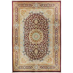 Ghom silke  teppe 242x351 Persisk Teppe