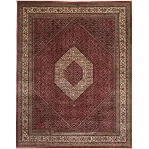 Bidjar Indisk  teppe 303x392 Orientalsk Teppe