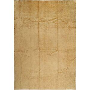 Håndknyttet. Opphav: Persia / Iran 275X388 Kerman Teppe Ekte Orientalsk Håndknyttet Lysbrun/Mørk Beige Stort (Ull, Persia/Iran)