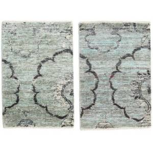 Himalaya bambu silke pakke med 2   teppe 60x90 Moderne Teppe
