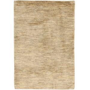 Håndknyttet. Opphav: Persia / Iran Håndknyttet Teppe Gabbeh Persia 103X150 Mørk Beige/Beige/Lysbrun (Ull, Persia/Iran)