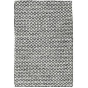 Kelim Honey Comb - Honeycomb Svart / Grå  teppe 120x180 Moderne Teppe