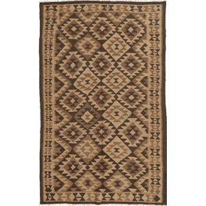 Håndknyttet. Opphav: Persia / Iran Persisk Kelim Teppe 148X251 Brun/Lysbrun/Mørk Brun (Ull, Persia/Iran)