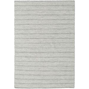 Kelim Long Stitch - Grå  teppe 160x230 Moderne Teppe