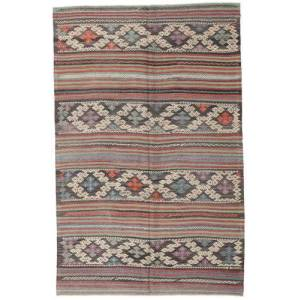 Kelim Tyrkiske  teppe 160x250 Orientalsk Teppe