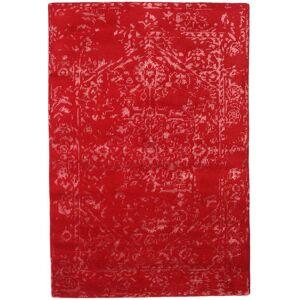 Håndknyttet. Opphav: India Håndknyttet Teppe Orient Express - Rød 140X200 Rød (Ull/Bambus Silke, India)