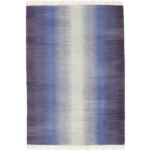 Ikat - Mørk Blå  teppe 140x200 Orientalsk Teppe