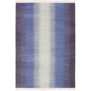 Ikat - Mørk Blå  teppe 160x230 Orientalsk Teppe