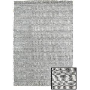 Bamboo Grass - Black_ Grå  teppe 120x180 Moderne Teppe