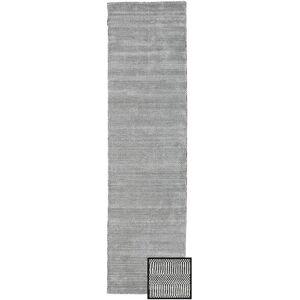 Bamboo Grass - Black_ Grå  teppe 80x290 Moderne, Løpere Teppe
