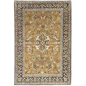 Ghom Kork / silke  teppe 107x157 Orientalsk Teppe