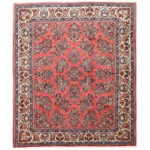 RugVista Persisk Teppe 216X252 Håndknyttet Orientalsk Ull Beige/Mørk Rød