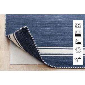 RugVista Anti Slip, Non-Woven Teppe 80X150 Blå/Lys Grå