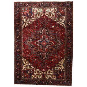 Håndknyttet. Opphav: Persia / Iran Hamadan Teppe 234X333 Mørk Rød/Mørk Brun (Ull, Persia/Iran)