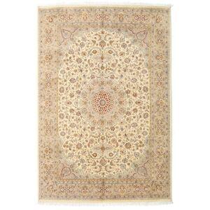 Håndknyttet. Opphav: India 170X252 Tabriz Royal Teppe Ekte Orientalsk Håndknyttet Beige/Mørk Beige ( India)