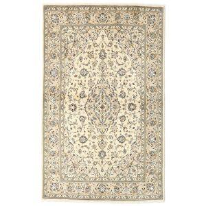 Håndknyttet. Opphav: Persia / Iran 135X216 Orientalsk Keshan Teppe Beige/Mørk Beige (Ull, Persia/Iran)