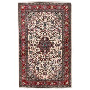 Håndknyttet. Opphav: Persia / Iran Persisk Sarough Sherkat Farsh Teppe 133X215 Mørk Brun/Lys Grå (Ull, Persia/Iran)