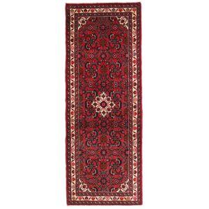 Håndknyttet. Opphav: Persia / Iran 70X190 Hamadan Teppe Ekte Orientalsk Håndknyttet Teppeløpere Mørk Rød/Mørk Brun (Ull, Persia/Iran)