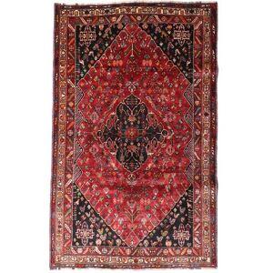 Håndknyttet. Opphav: Persia / Iran Ghashghai Teppe 174X277 Ekte Orientalsk Håndknyttet Mørk Rød/Mørk Brun (Ull, Persia/Iran)