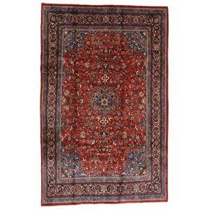 Håndknyttet. Opphav: Persia / Iran Ekte Teppe Mahal 207X317 Mørk Rød/Svart (Ull, Persia/Iran)