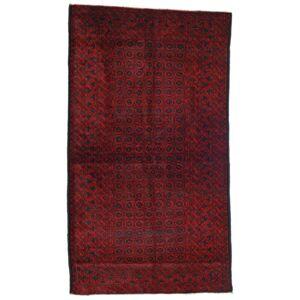 Håndknyttet. Opphav: Afghanistan 120X200 Orientalsk Beluch Teppe Mørk Rød/Rød (Ull, Afghanistan)