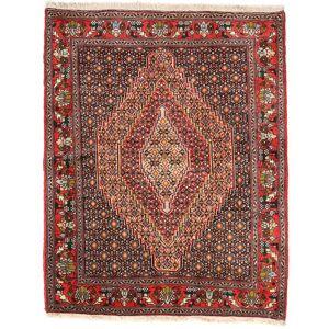 Håndknyttet. Opphav: Persia / Iran 125X155 Orientalsk Senneh Teppe (Ull, Persia/Iran)