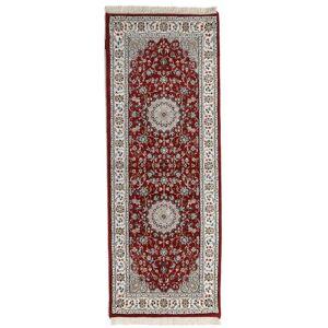 Håndknyttet. Opphav: India Orientalsk Nain Indisk Teppe 72X194 Teppeløpere ( India)