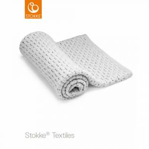 Stokke, Blanket Merino Wool Light grey