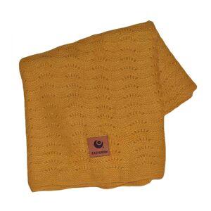 Easygrow, Grandma WAVE Blanket, Yellow Melange