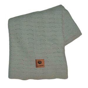 Easygrow, Grandma WAVE Blanket, Ice blue Melange