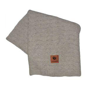 Easygrow, Grandma WAVE Blanket, Grey Melange