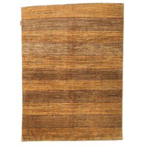 Handknuten. Ursprung: Pakistan Äkta Matta Ziegler Moderna 146X195 Brun/Ljusbrun (Ull, Pakistan)
