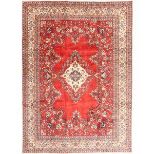 Handknuten. Ursprung: Persia / Iran Hamadan Shahrbaf Matta 265X363 Ljusbrun/Brun Stor (Ull, Persien/Iran)