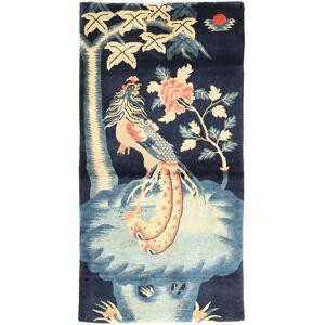 ART Chinese Antik Art Deco 1920  matta 93x183 Orientalisk Matta