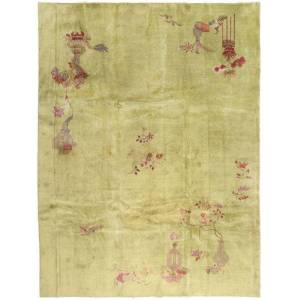 ART Chinese Antik Art Deco 1920  matta 272x350 Orientalisk Matta