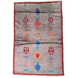 Handknuten. Ursprung: Afghanistan Moroccan Berber - Afghanistan Matta 116X172 Ljuslila/Ljusrosa (Ull, Afghanistan)