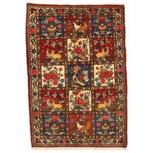 Handknuten. Ursprung: Persia / Iran Orientalisk Bakhtiar Collectible Matta 108X158 (Ull, Persien/Iran)