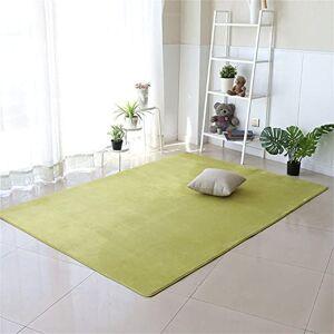 Jllcyr Fluffiga mattor moderna vardagsrum supermjuk beröring kort hög stor matta halkfri tjock hållbar för sovrum kök barn och bebisrum hem dekorativ abstrakt matta grön 29, 100 x 200 cm