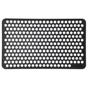 Tica Copenhagen Dørmåtte i gummi, 45x75 cm, dot design