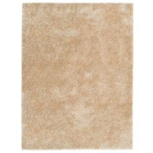 vidaXL Shaggy matta 80x150 cm beige