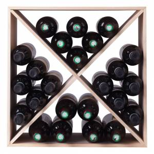 Vinreol I Fyrretræ - 24 Flasker