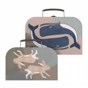 Sebra, Koffertsett 2 stk, Arctic animals