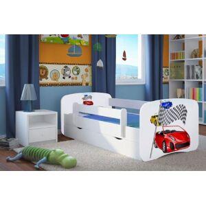 Acer Curtain Bed Ferrari med skuff  - Junior seng 986835