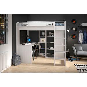 Drømmerom Higher Loftseng med skrivebord og garderobe