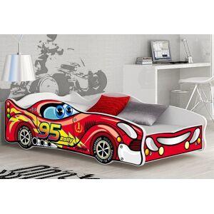 Drømmerom Bilseng CARS 160×80 inkludert madrass