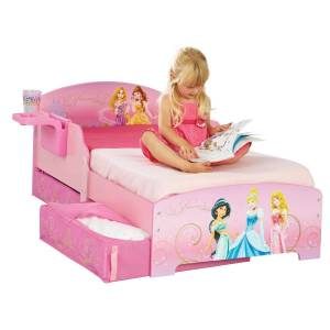 Hello Home HelloHome Disney Princess Seng med Oppbevaring og Hylle