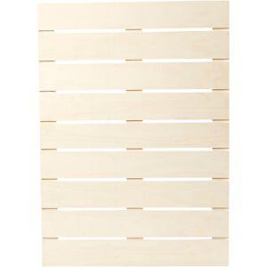 Creativ Company Väggdekoration, 45x63 Cm, 1,1 Cm, Plywood, 1 St.