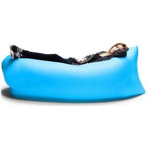 Luft Strandsofa Blå - Fang luften/Nyt Stor sofa-Liten å ta med-Enkel å fylle