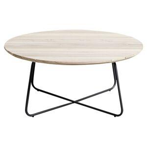 Muubs Tasi Loungebord - Teak/Rustfri Stål, Ø90