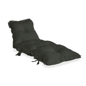 Sit&Sleep Futon madras/stol Outdoor - Mørk grå